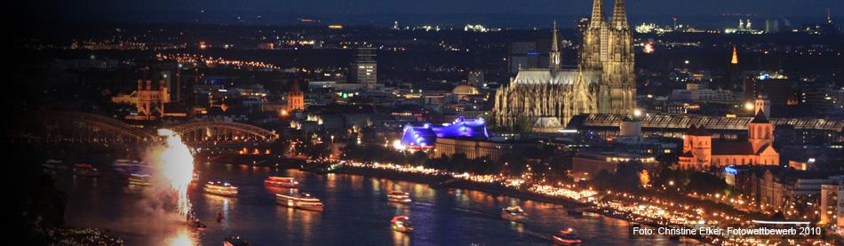 Kölner Lichter Hohenzollern Balkon